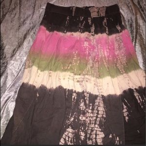 Women's Torrid Multi Colored Skirt - REPOSH.